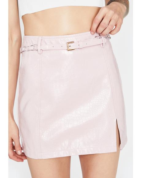 Major Trouble Mini Skirt