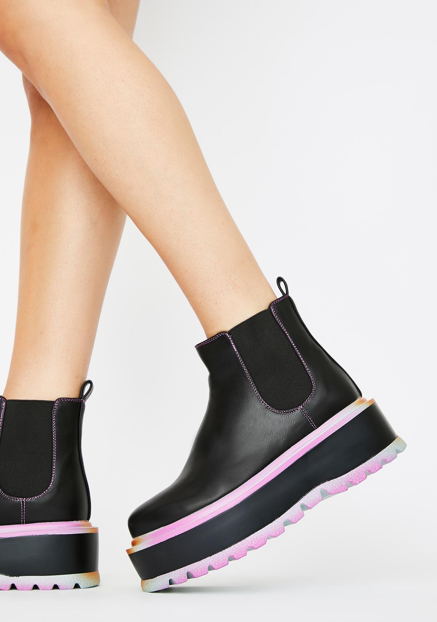 Koi Footwear Raum Chelsea Platform Boots