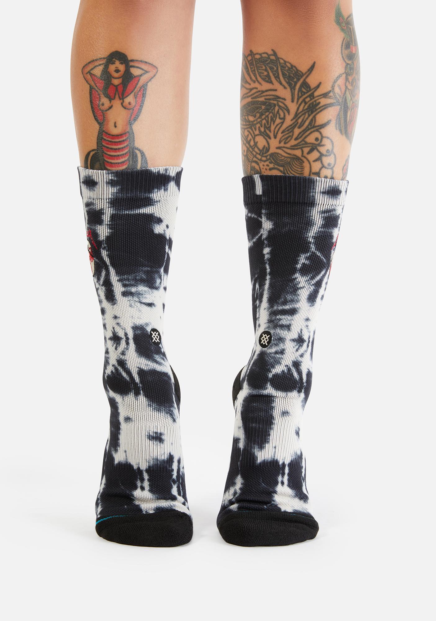 Stance Kill Em All Metallica Crew Socks