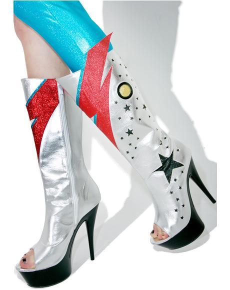 Bowie Platform Boots