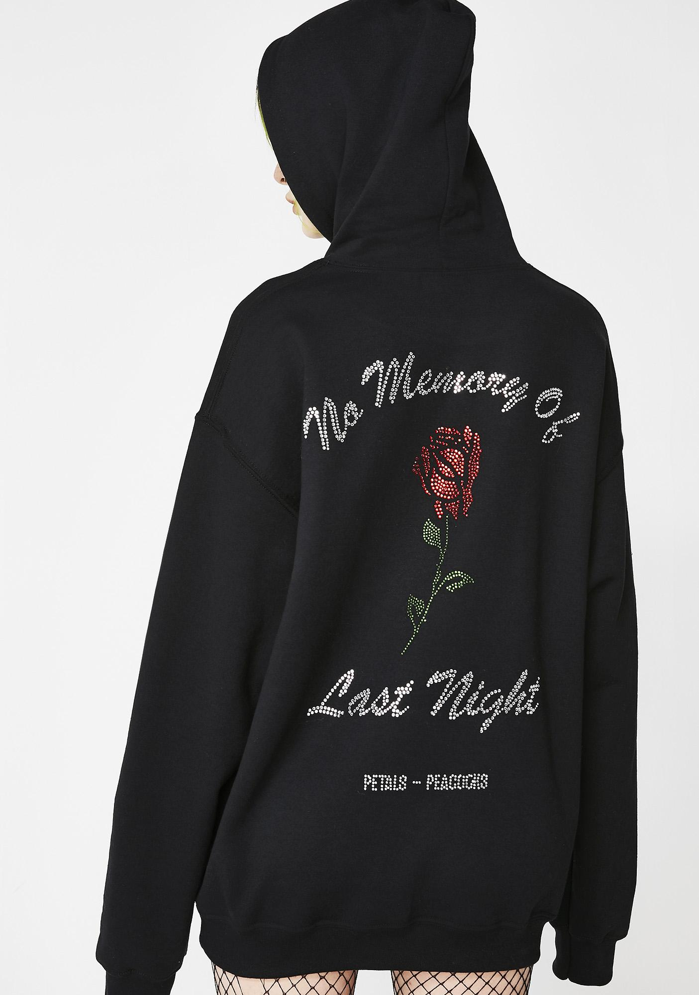 No Memory Hoodie by Petals And Peacocks