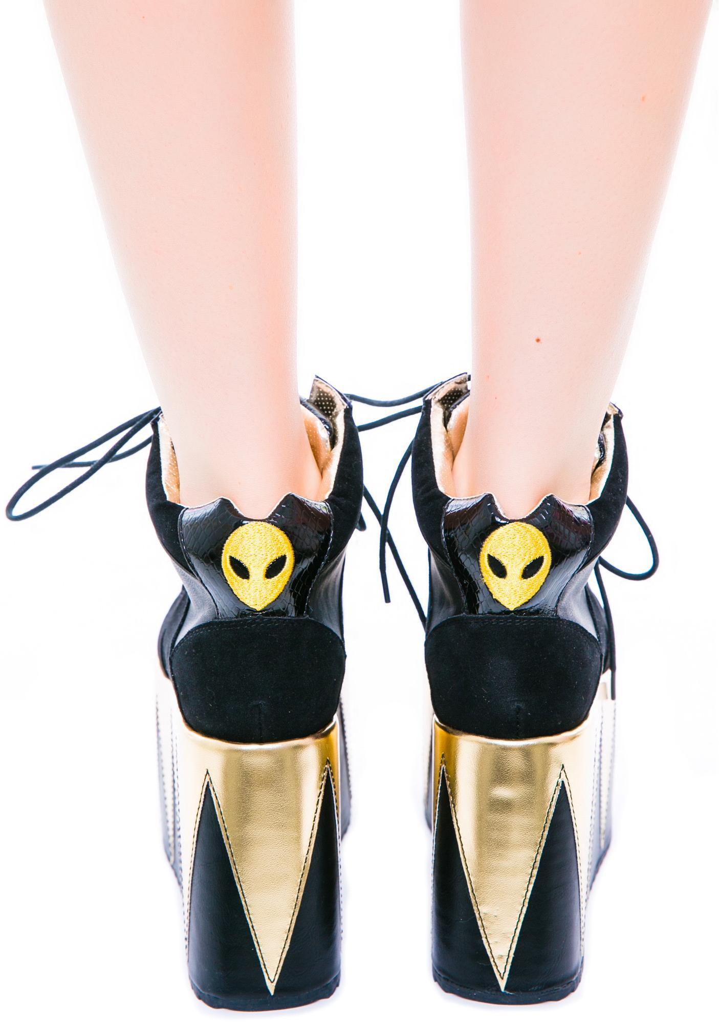 5dc41f7cbd ... Y.R.U. Qozmopolitan Platform Shoes