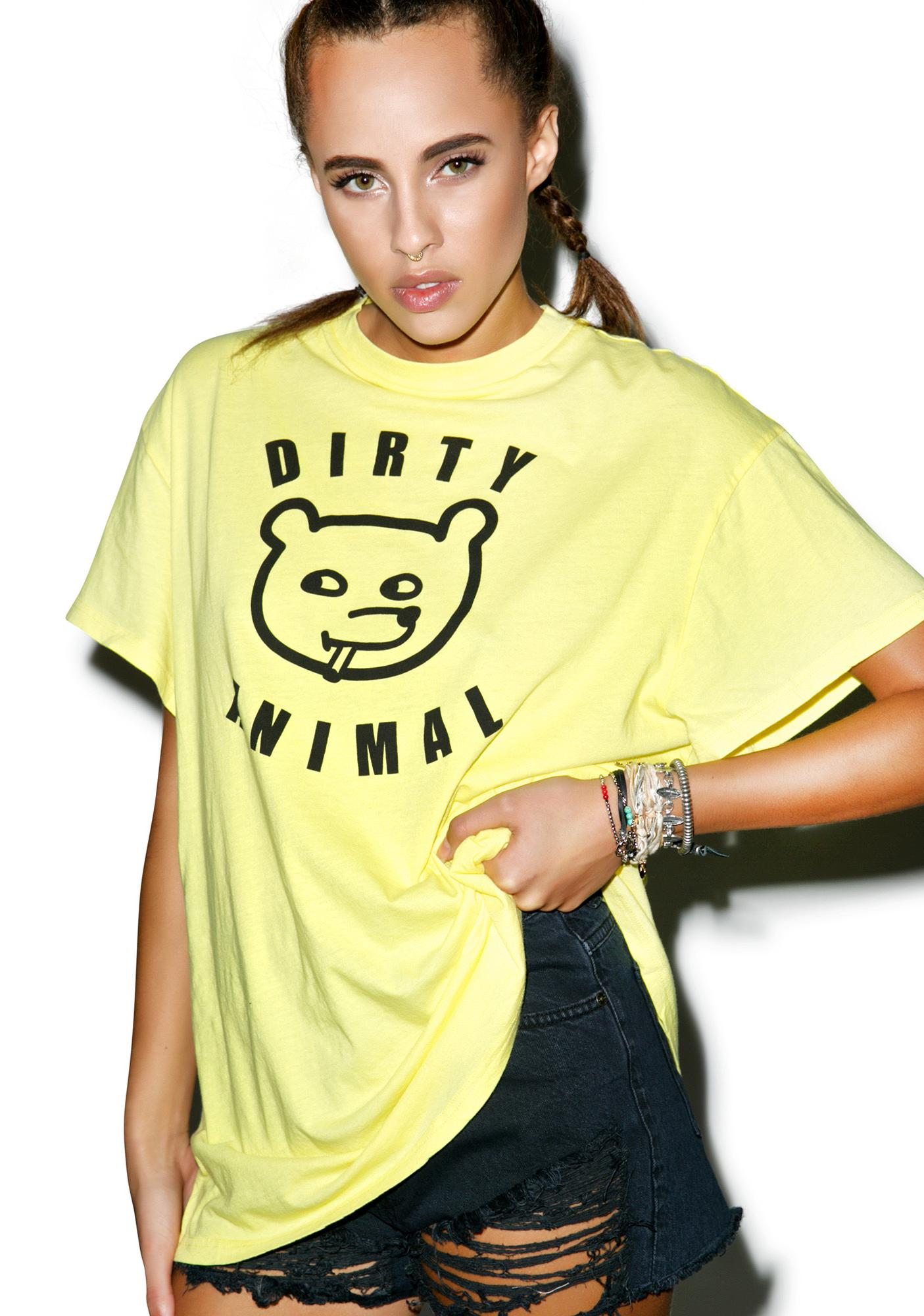 Lazy Oaf Dirty Animal Tee