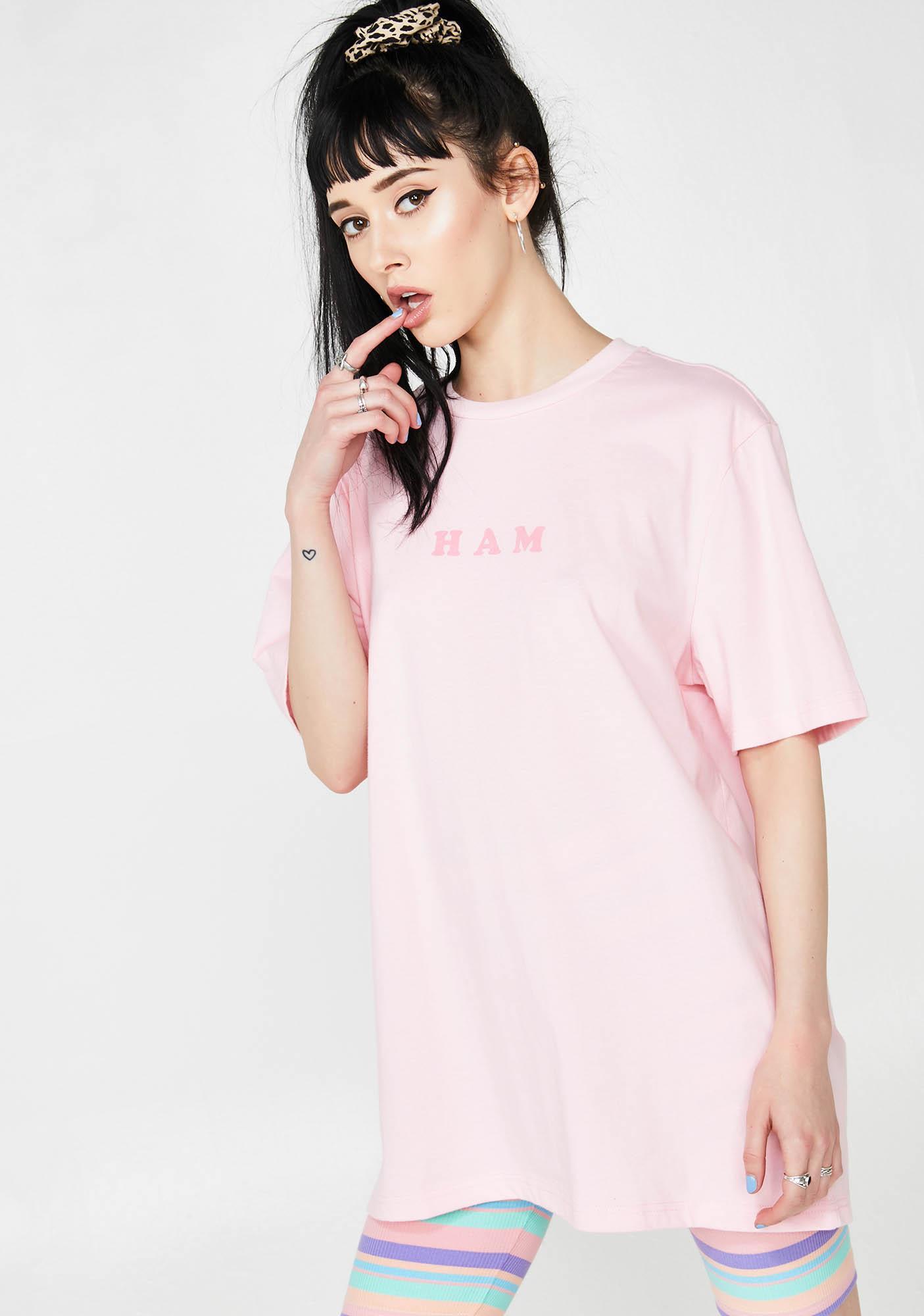 Lazy Oaf Ham T- Shirt