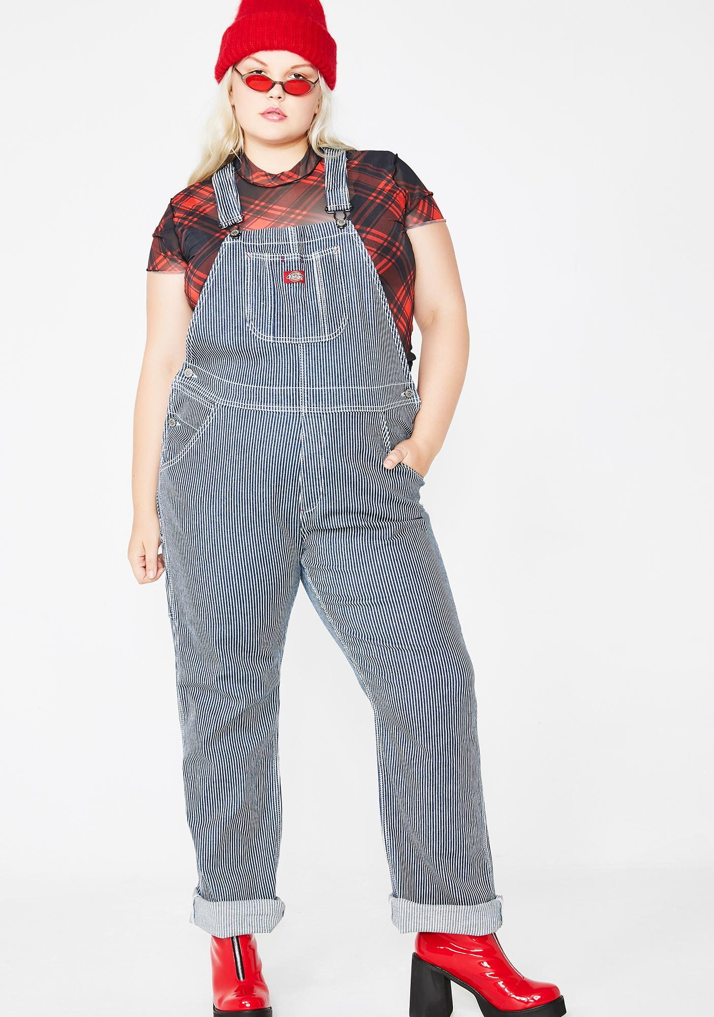 a8d370cc409 ... Dickies Girl Hickory Stripe Overalls