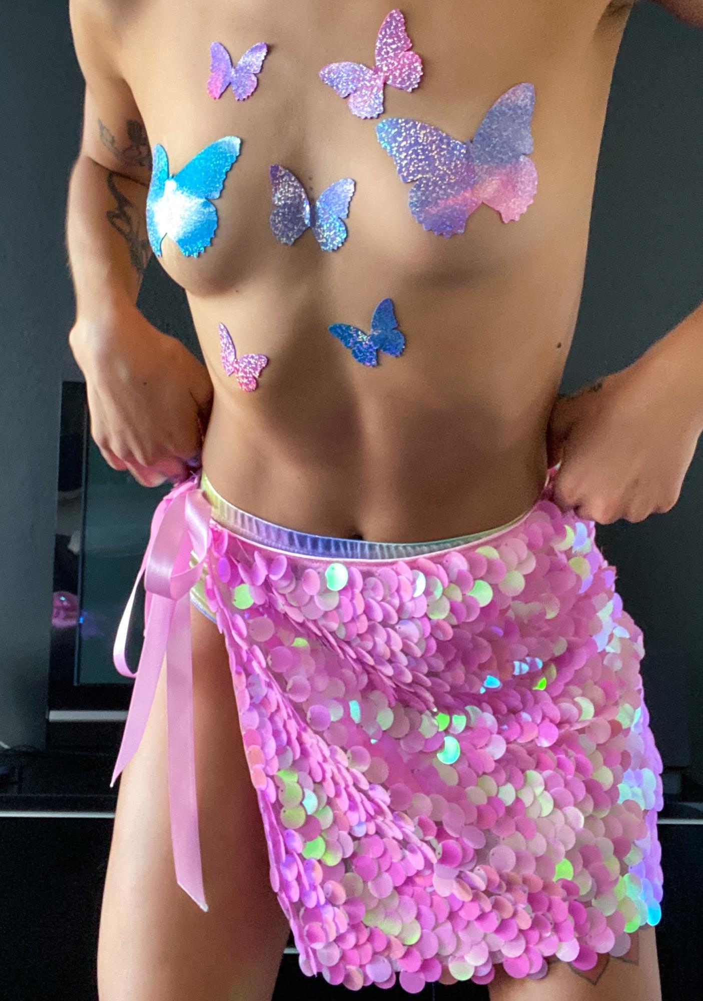 Sugar Thrillz Part Of Ur World Sequin Skirt