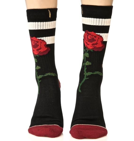Stance The Rose Classic Crew Socks