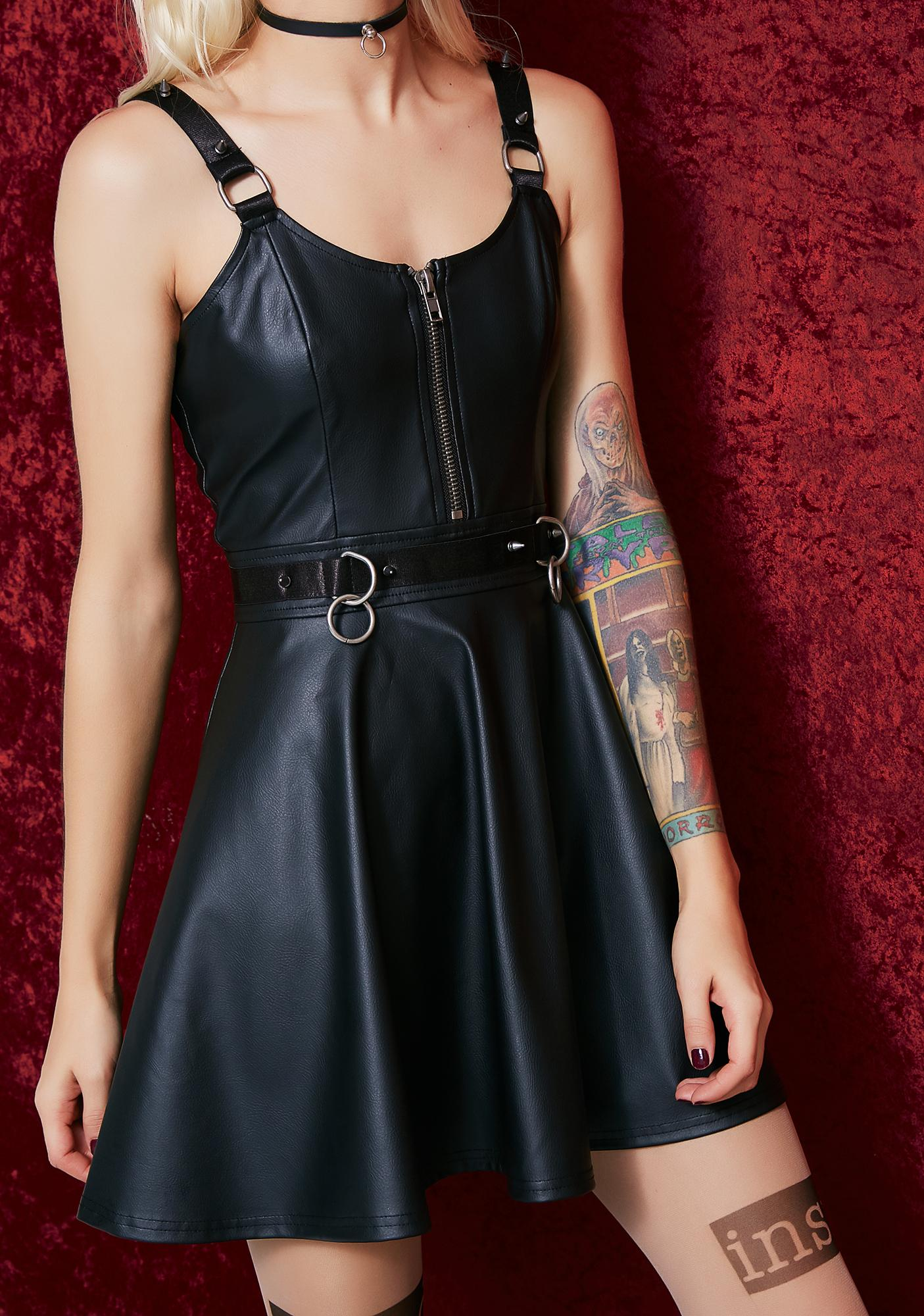 Current Mood Sweet Surrender Spiked Dress
