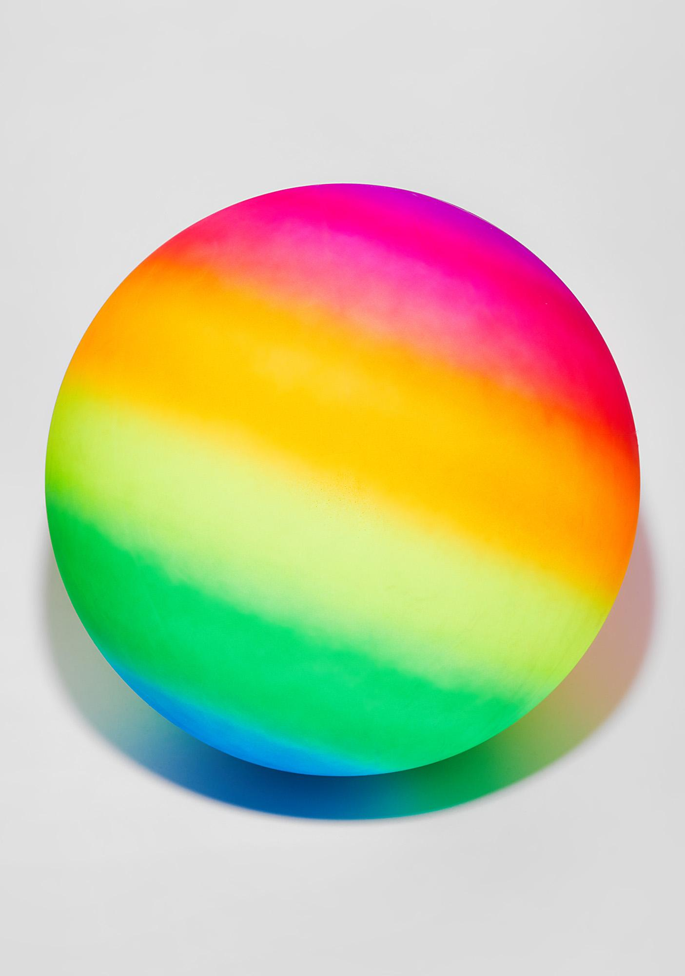 Make It Bounce Rainbow Ball