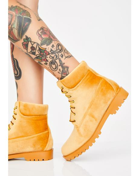 Boss Baddie Combat Boots