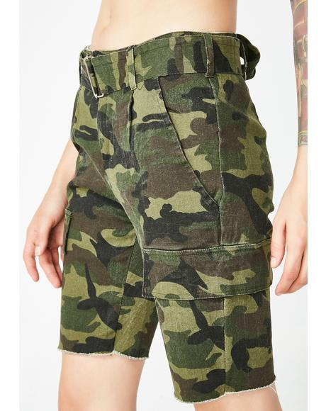 Baddie Expedition Camo Shorts