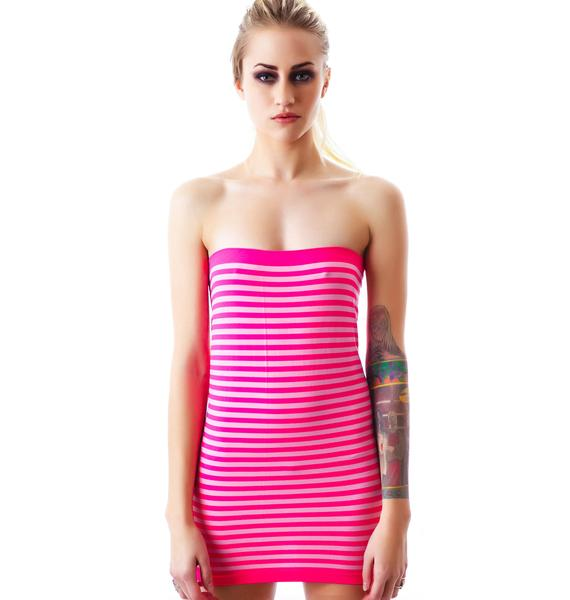 SuperStripes Tube Dress