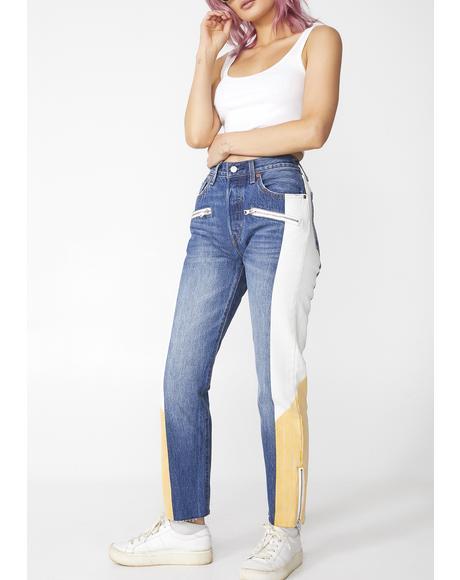 501 Original Moto Jeans