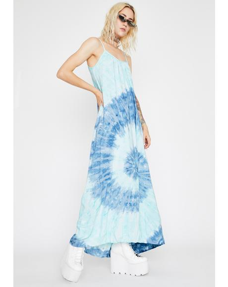 Twirling Skies Maxi Dress