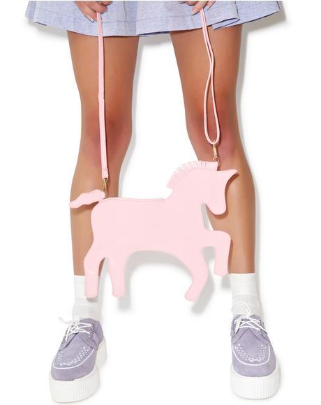 I Luv My Unicorn Patent Bag