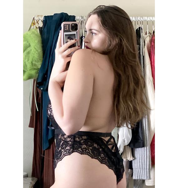 My Undisclosed Desires Lace Bodysuit