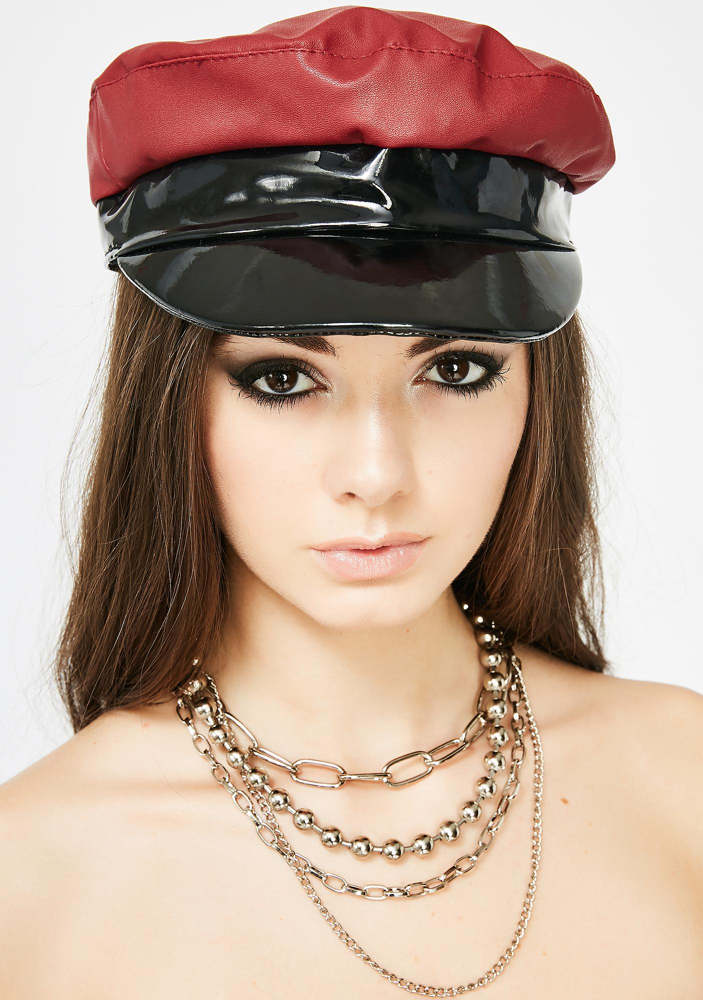 Red Light Special Patent Hat