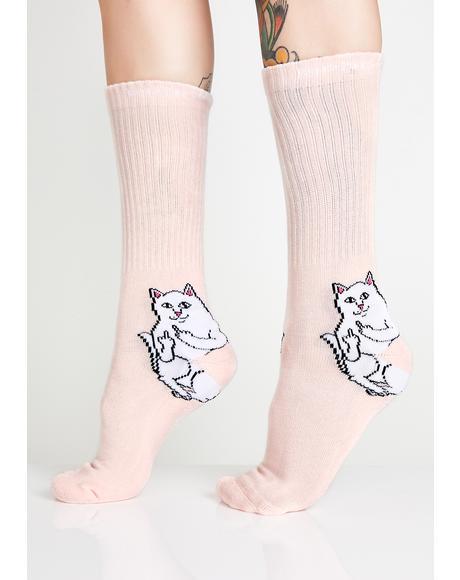 Kiss Lord Nermal Socks