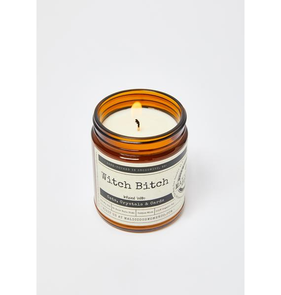 Malicious Women Company Witch Bitch Citrus & Sage Candle