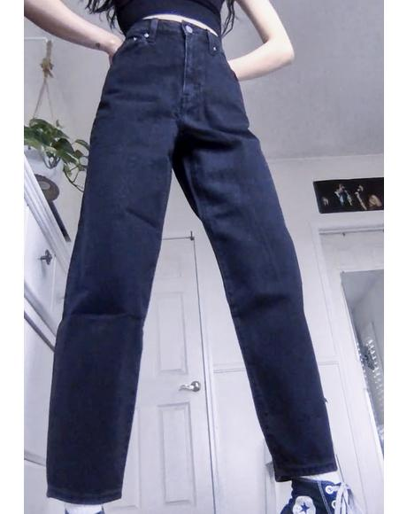 Black Book Balloon Leg Denim Jeans