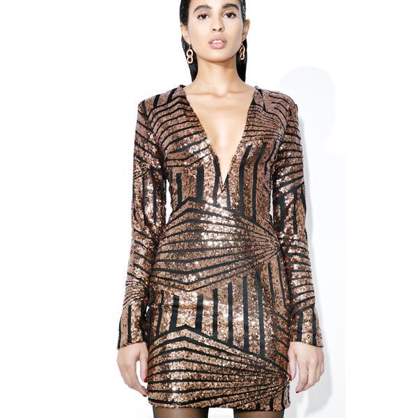 Lifeline Sequin Mini Dress