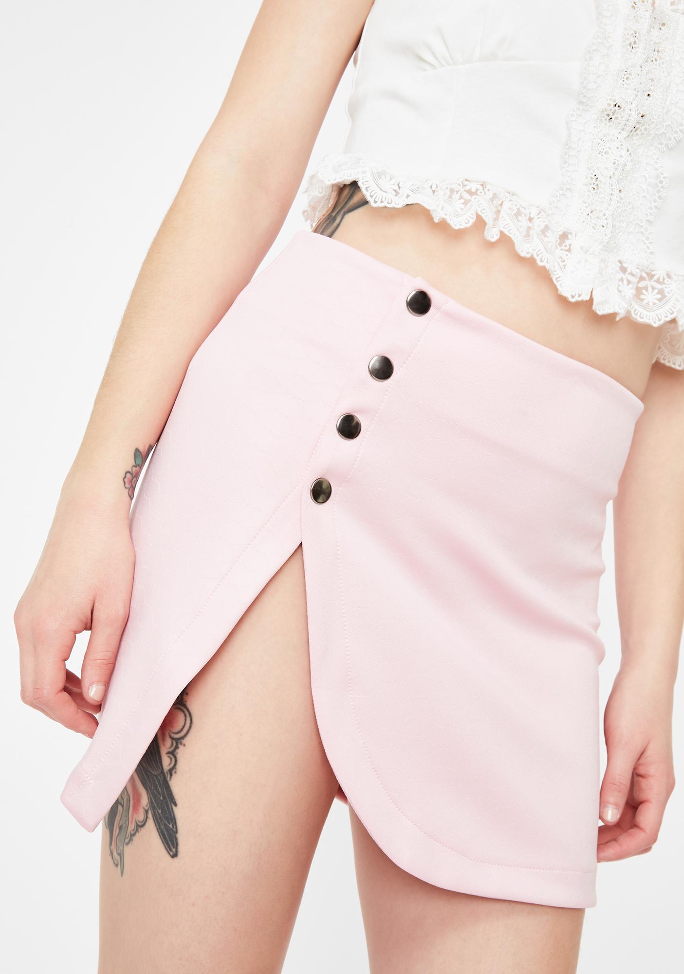 Kiki Riki Catching Feelings Slit Skirt
