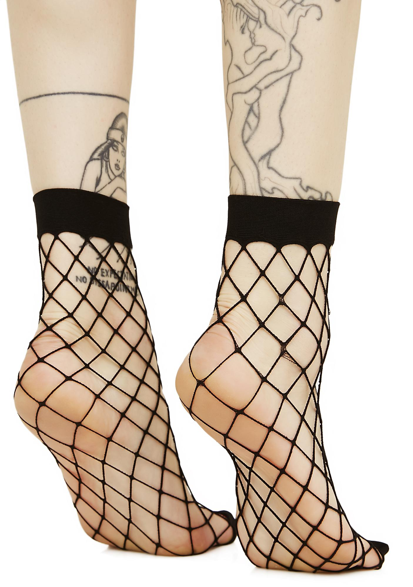 Troublemaker Fishnet Socks