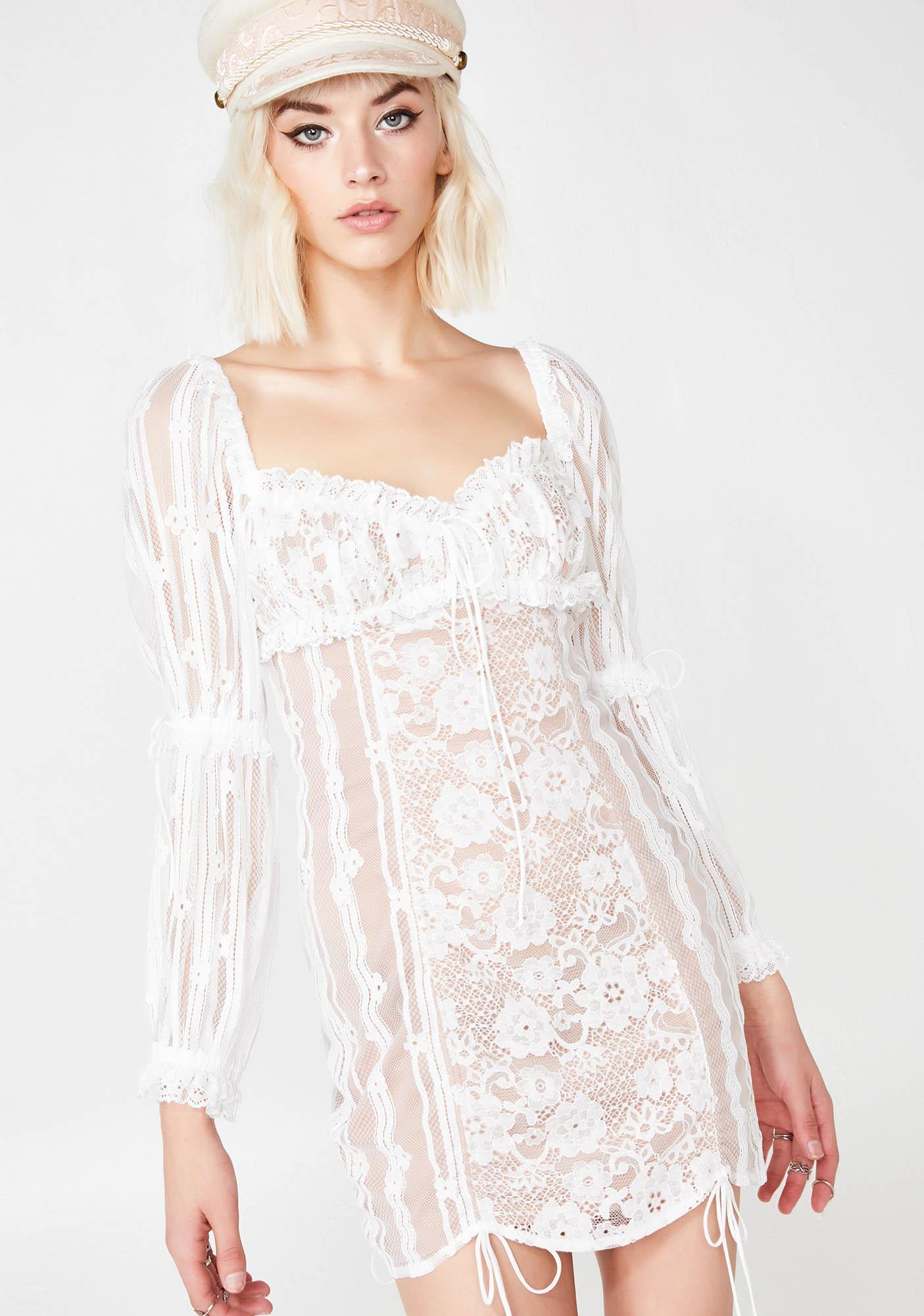 202f1f5b9af11 For Love & Lemons Pure Monroe Mini Dress | Dolls Kill