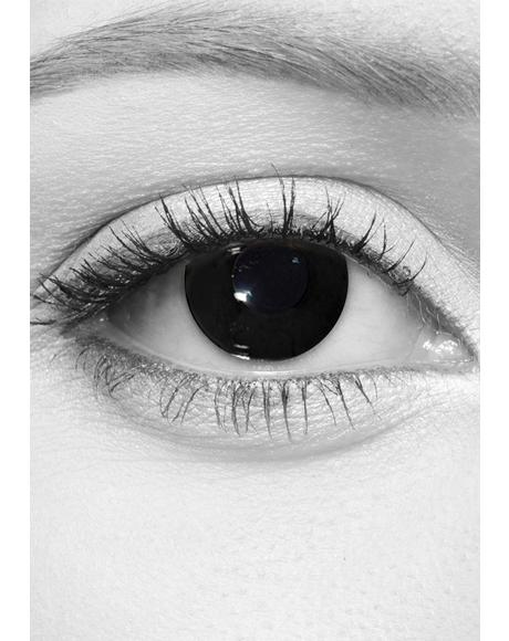Total Blackout Contact Lenses
