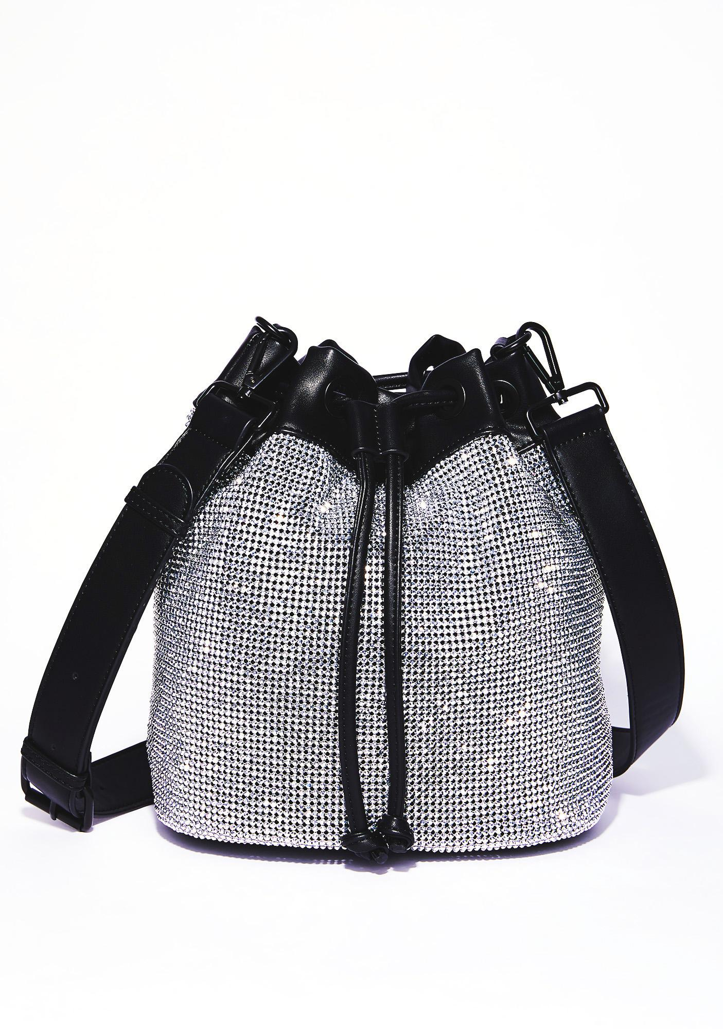 Current Mood Chainmail Bucket Bag