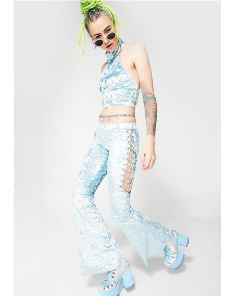 Crushed Your Heart Baby Blue Set