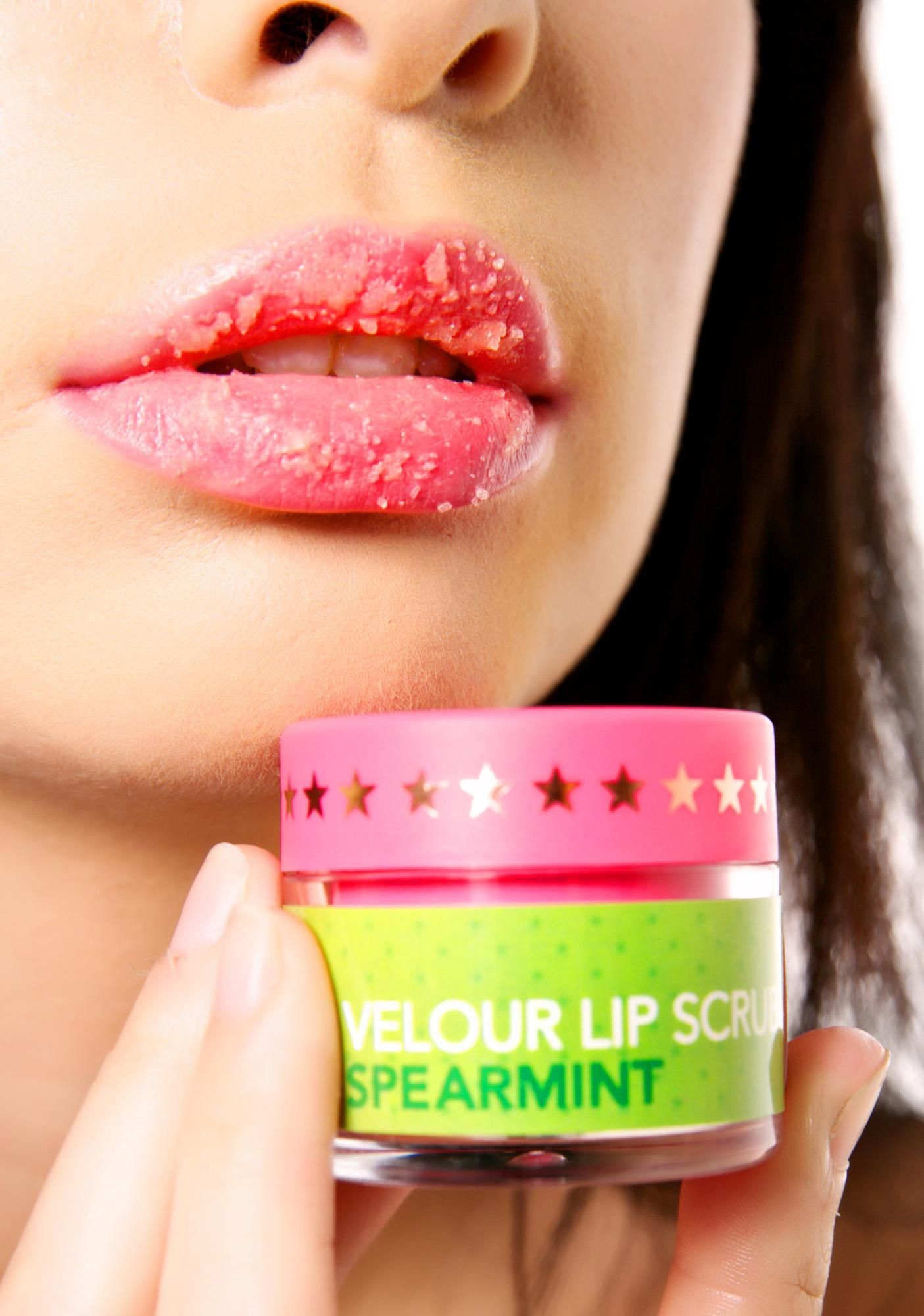 Jeffree Star Spearmint Velour Lip Scrub