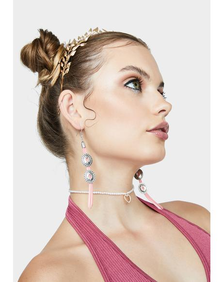 Party Drifters Fringe Earrings