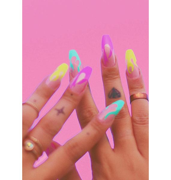 Clutch Nails Hot Girl Stunner Press On Nails