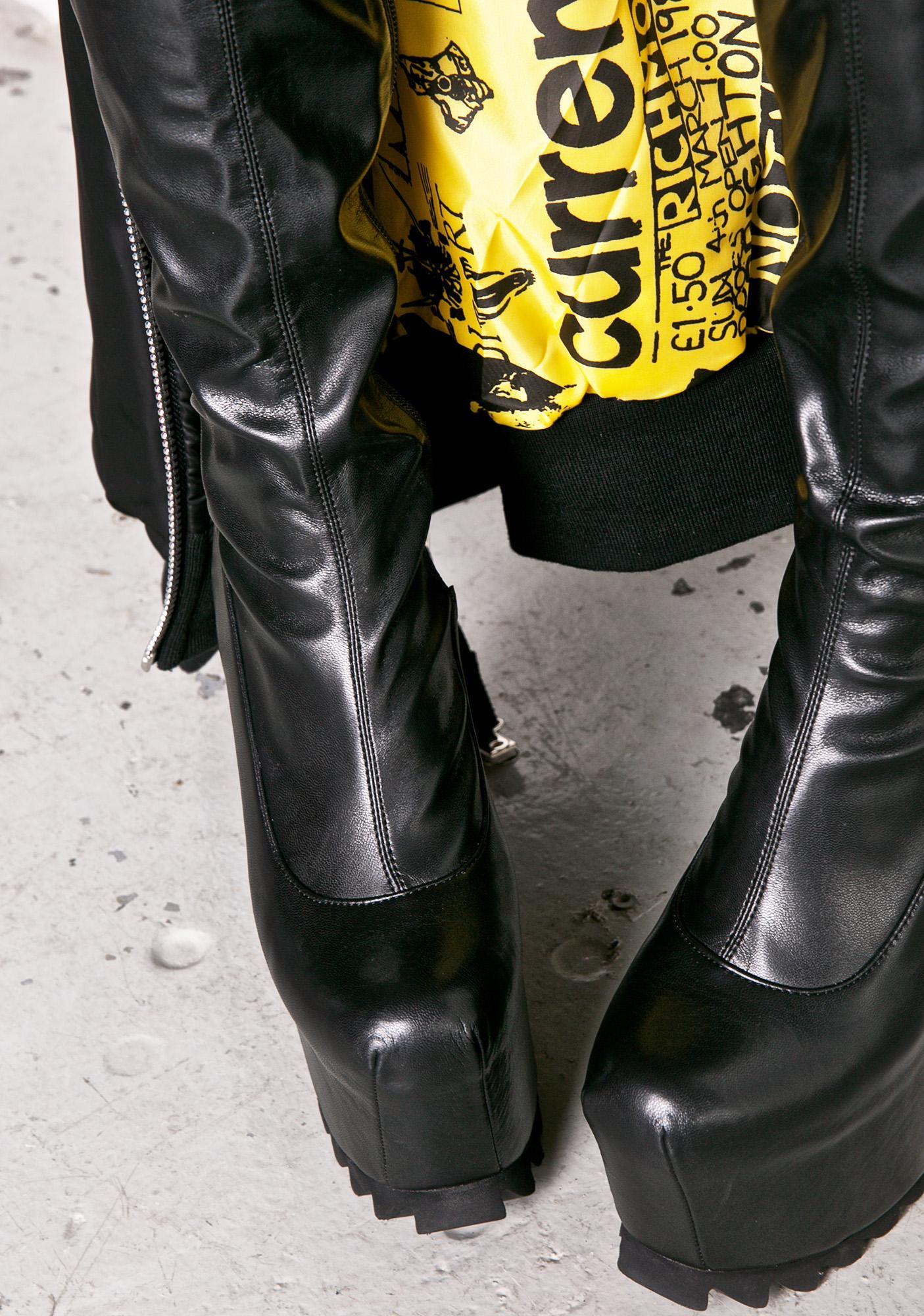 Current Mood Nightcap Thigh-High Boots