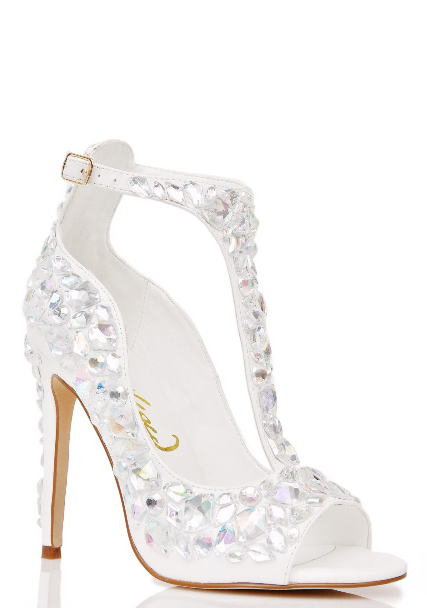 Privileged Mirage Jeweled Heel
