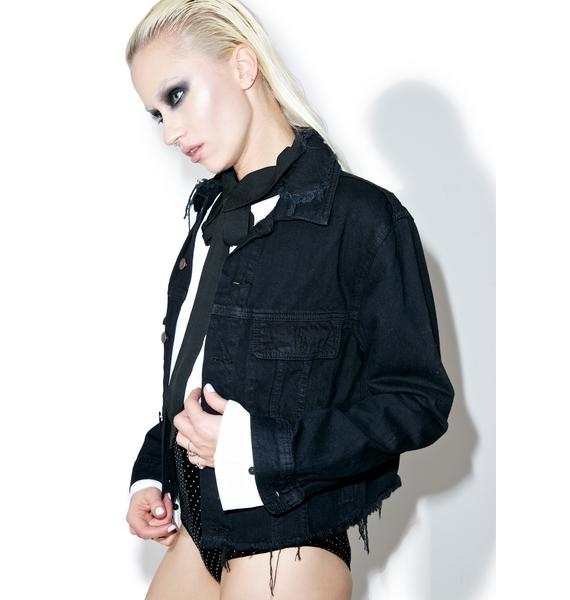 Hott Gossip Denim Jacket