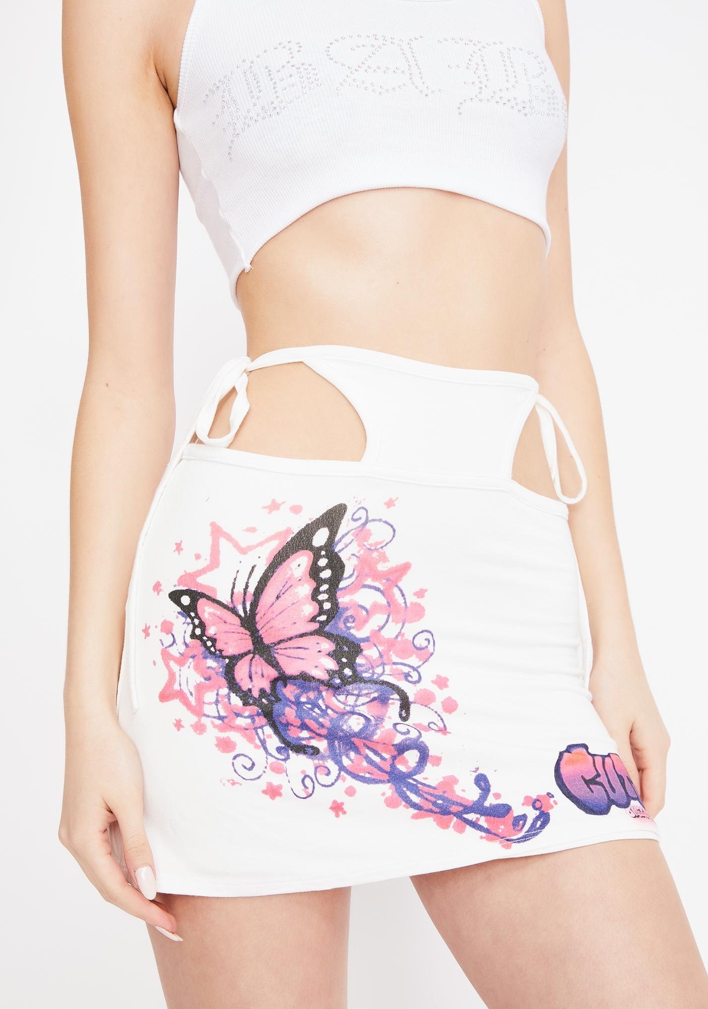 O Mighty Butterfly G String Skirt