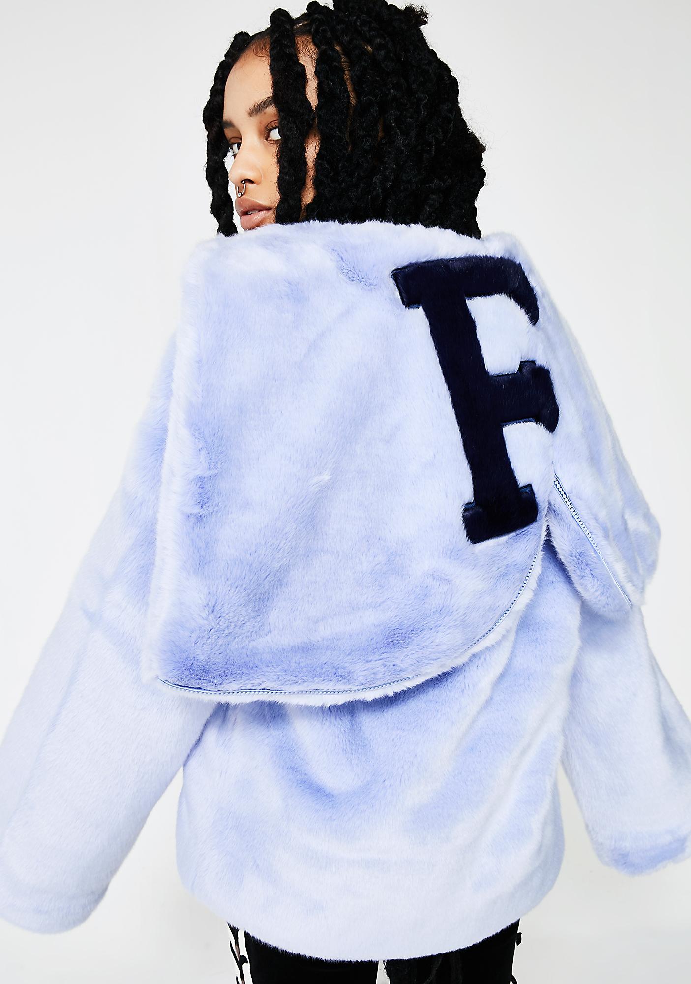 8c1b96095d07 PUMA FENTY PUMA By Rihanna Faux Fur Shawl Collar Jacket