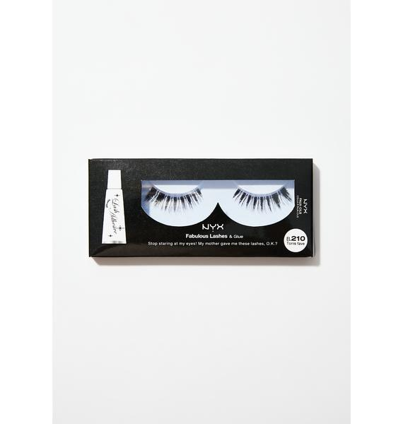 NYX  Tonis Fave Fabulous Lashes & Glue