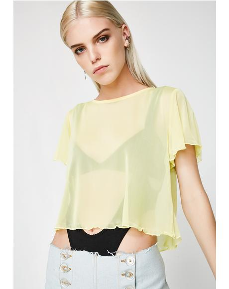 Def' Not Sorry Mesh Top