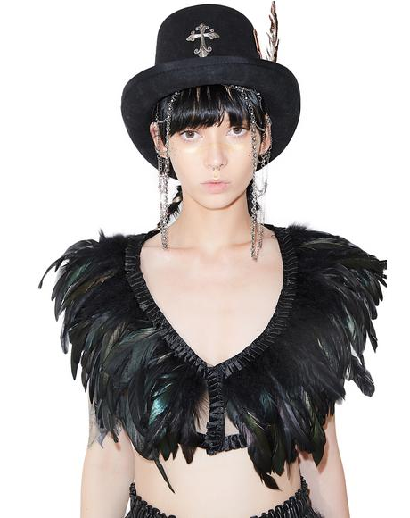 Bird Of Prey Feather Top