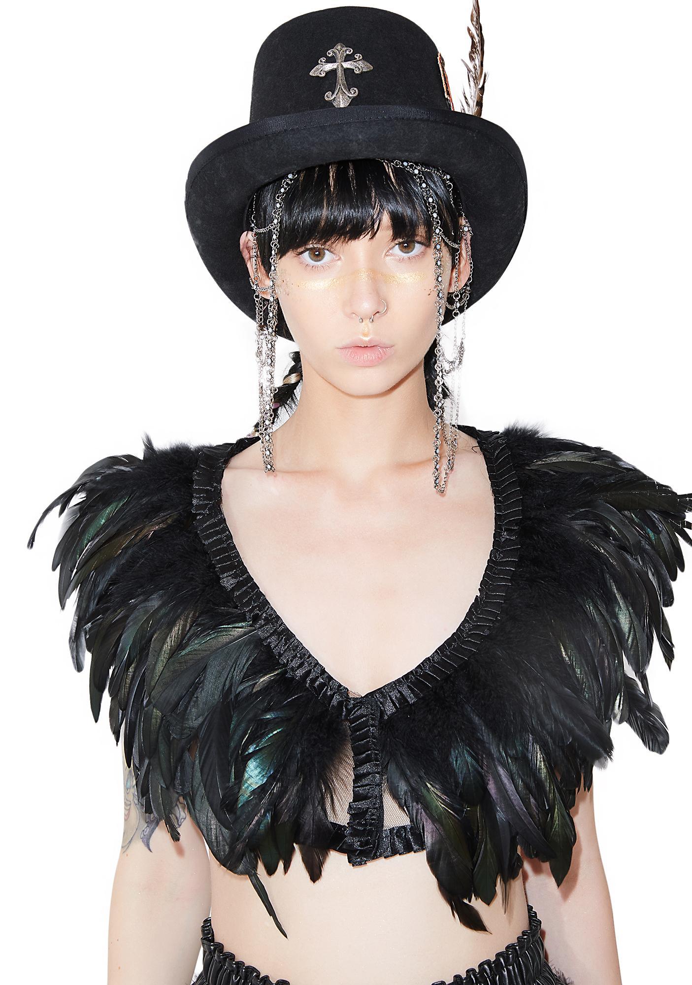 Bird Of Prey Feather Top