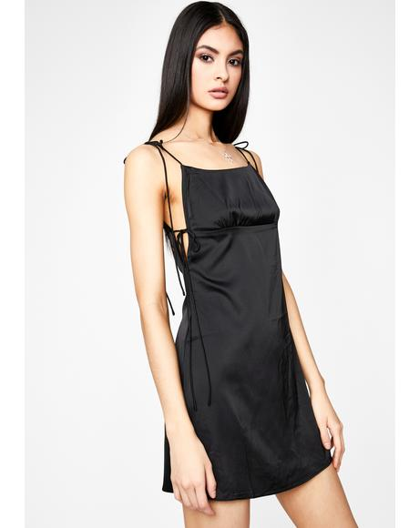 Chic Confessions Satin Dress