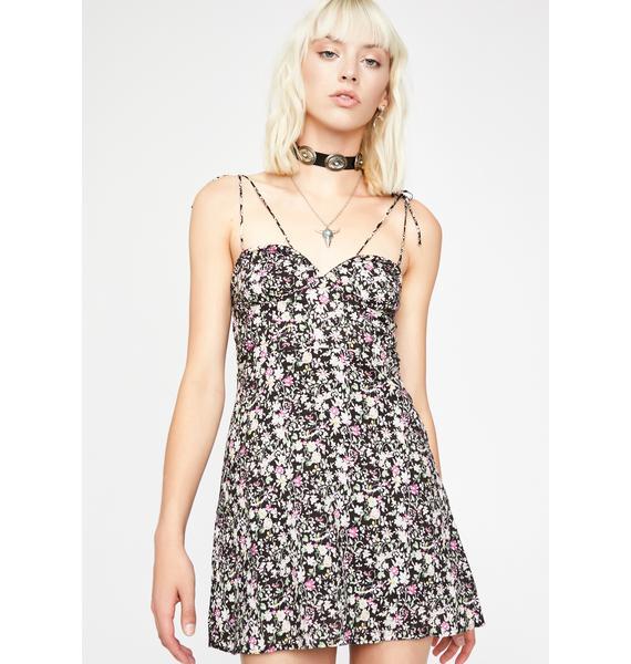 Lustful Lova Floral Dress