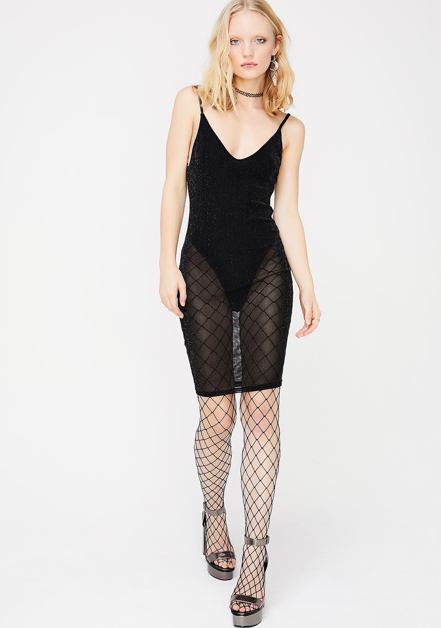 Okurrr Sheer Dress