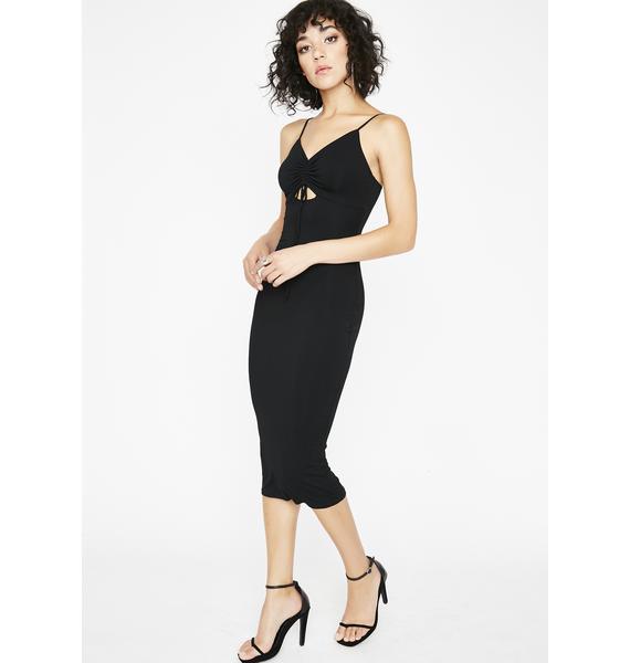Right Moves Midi Dress