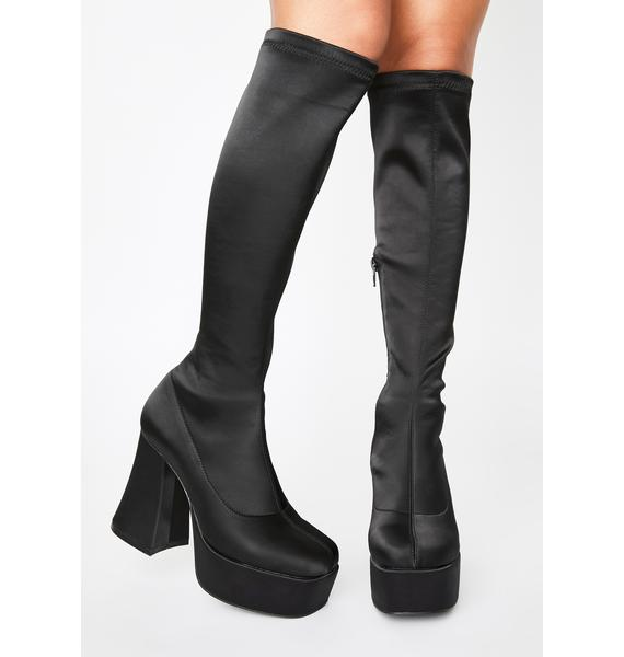dELiA*s by Dolls Kill Made In Manhattan Knee High Boots