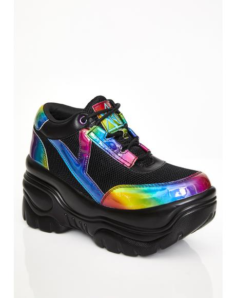 Rainbow Matrixx Platform Sneakers