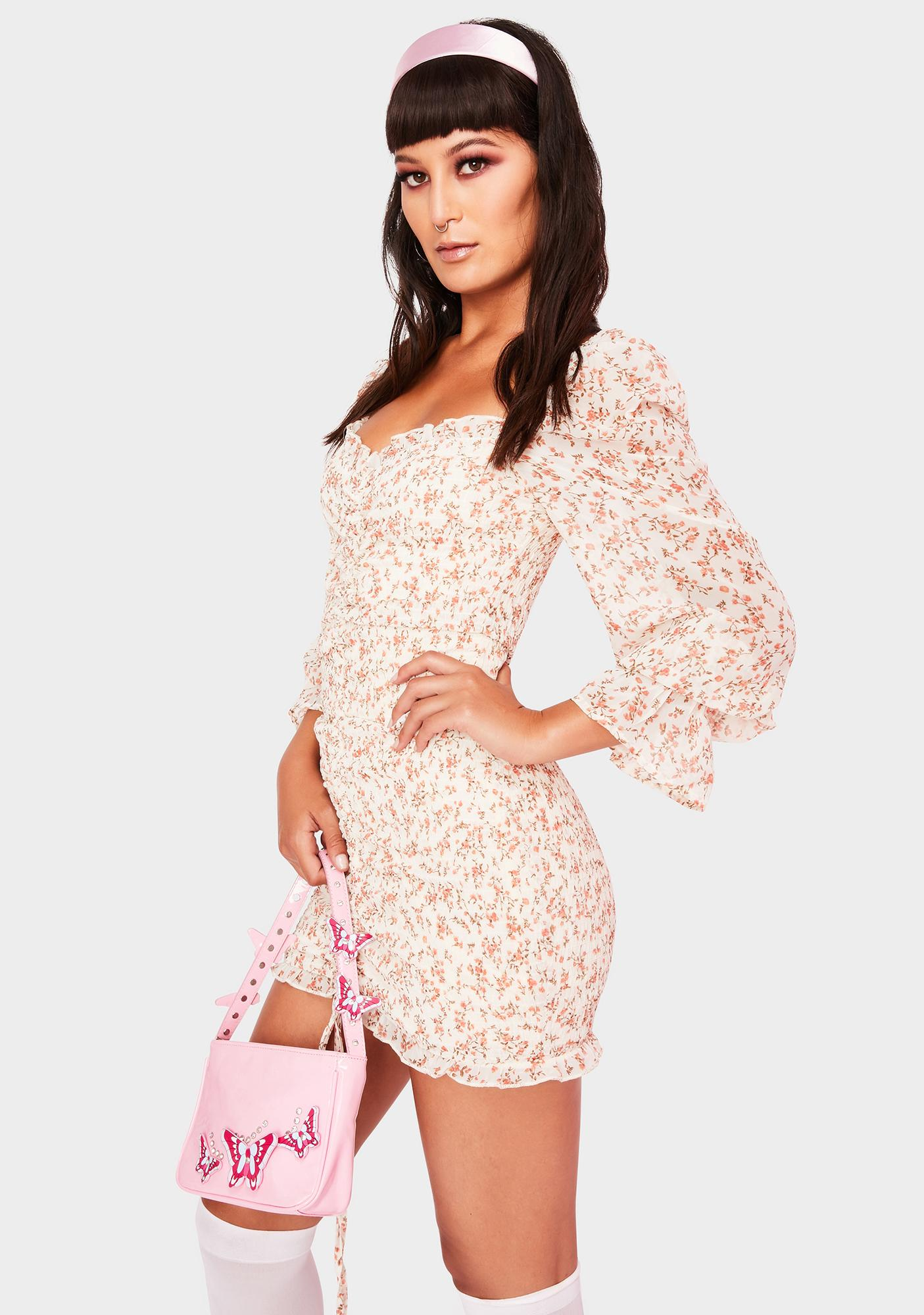 Sweetest Surrender Ruched Dress